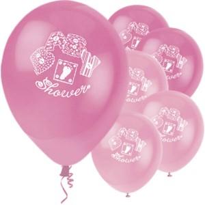 baby shower ballonger rosa