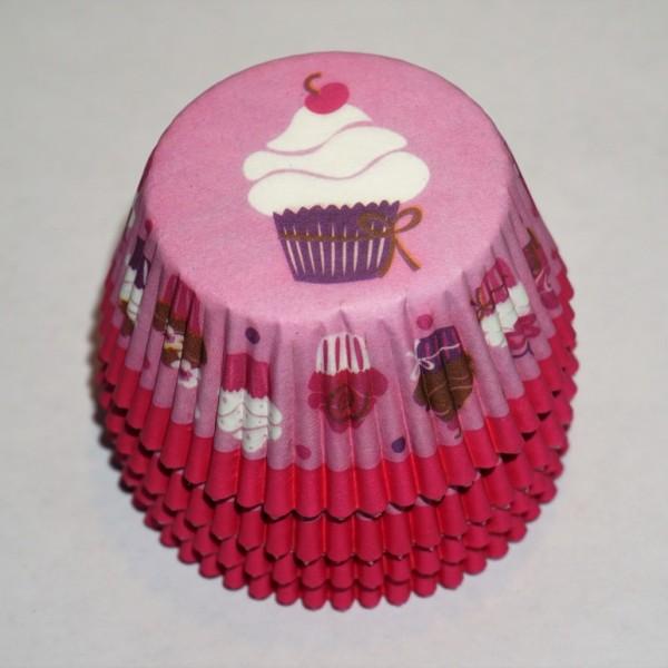 muffinsformar-rosa-bakelse