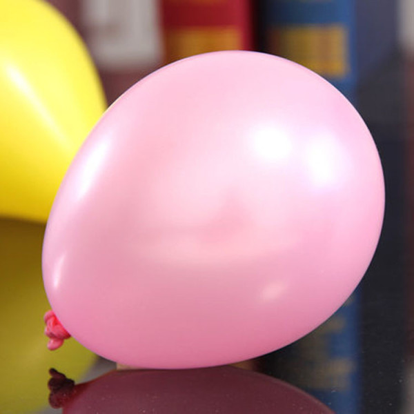 Snygga rosa ballonger passande som dekoration till babyshower, dop, fest och kalas.