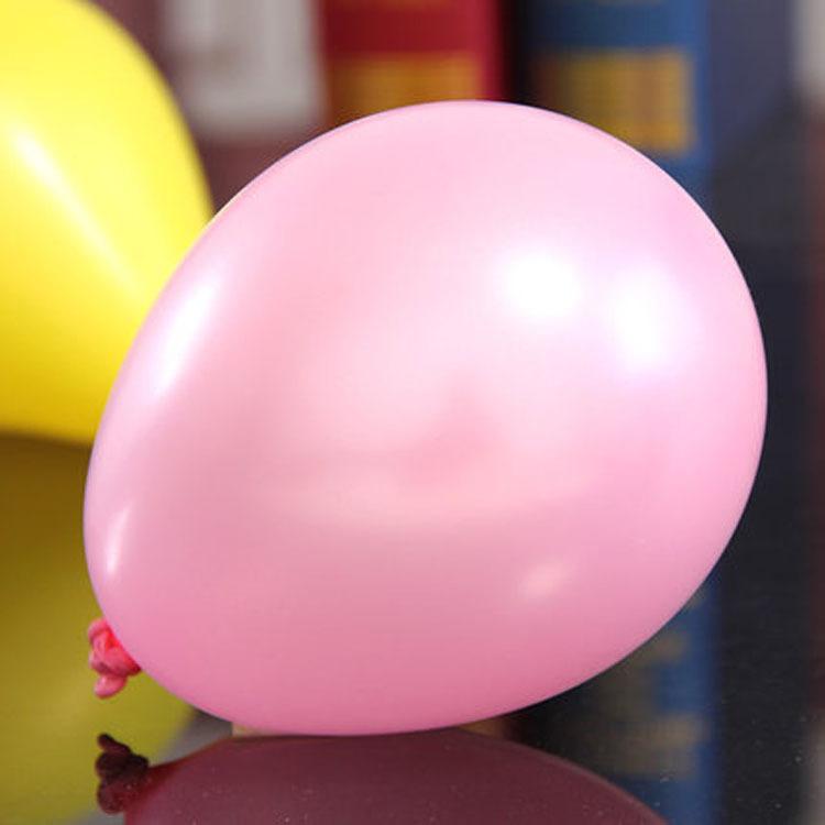 snygga rosa ballonger perfekta som dekoration till babyshower eller dopfest