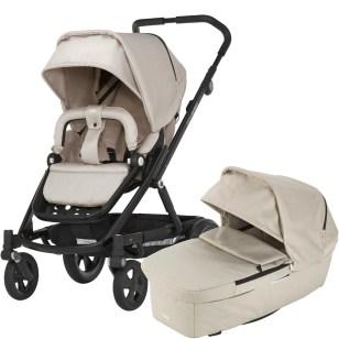 kombivagnar populära för att slippa byta barnvagn när barnet växer