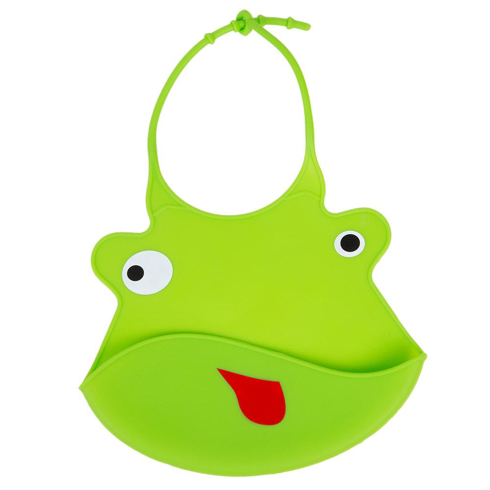 grön haklapp till skötväskan.
